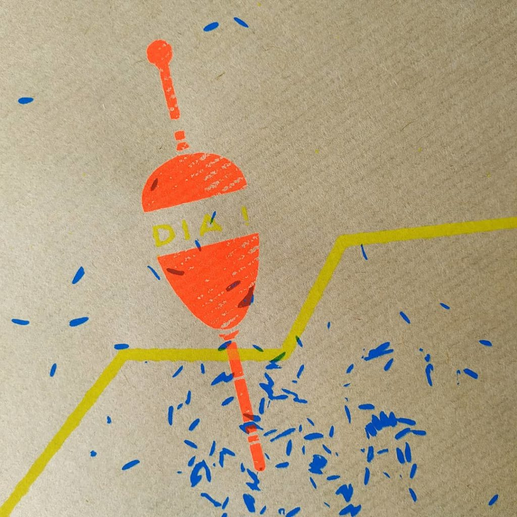 Bouchon sérigraphie 3 couleurs